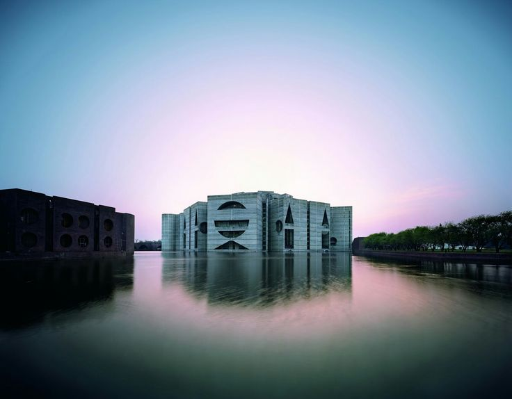 Louis Kahn National Assembly Building (Dhaka, Bangladesh: 1962)