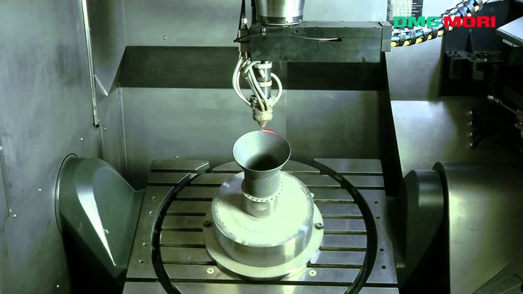 Hybrid ( Additive and Subtractive manufacturing) machine by DMG Mori
