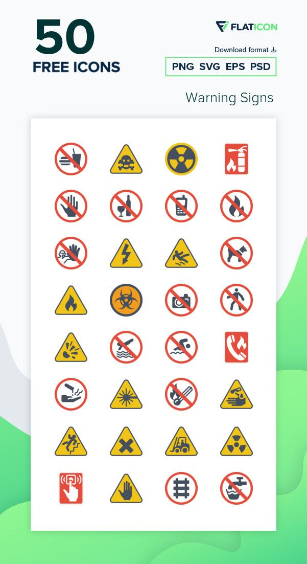 50 Free Vector Icons Of Warning Signs Designed By Smashicons Vector Icons Icon Free Icons Png