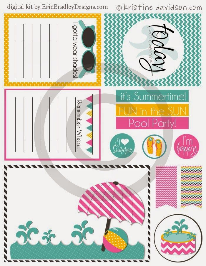 Free It's Summertime Printables