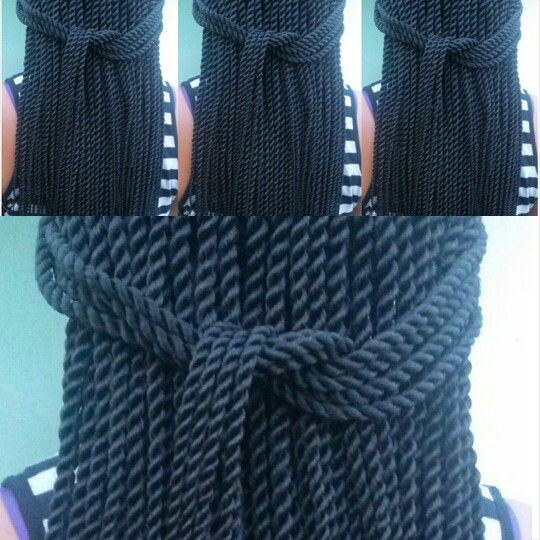 Rope twists -Senegalese twists #braidsbyguvia  The neatness of these twist just gives me chills!