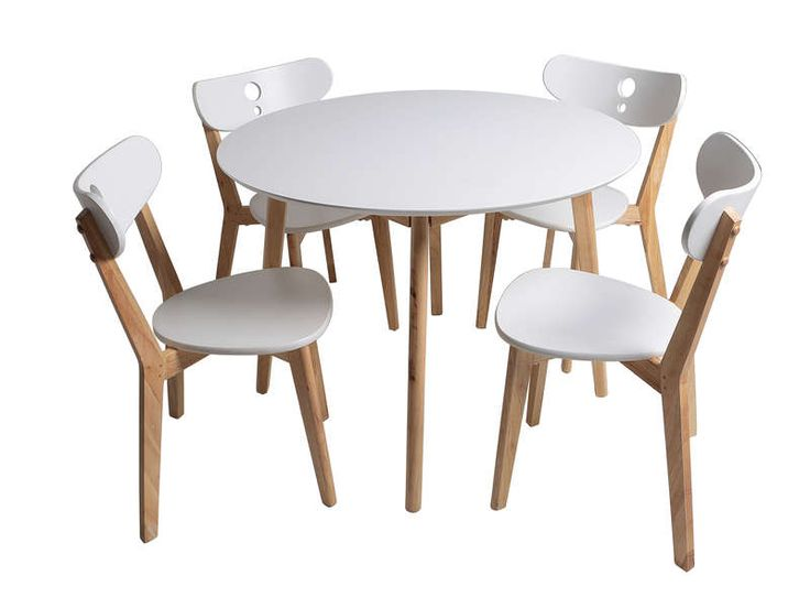 17 best ideas about table et chaise on pinterest table - Ensemble table ronde 4 chaises ...