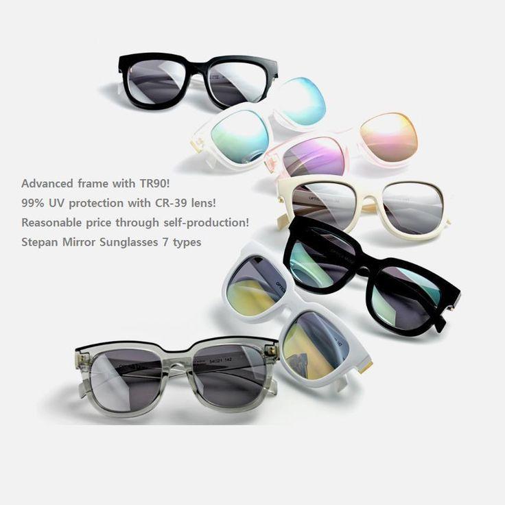 OPTICS MUSEUM Men Women Sunglasses TR90 Frame Oversize Fashion Eyewear 7Type #OPTICSMUSEUM #Square