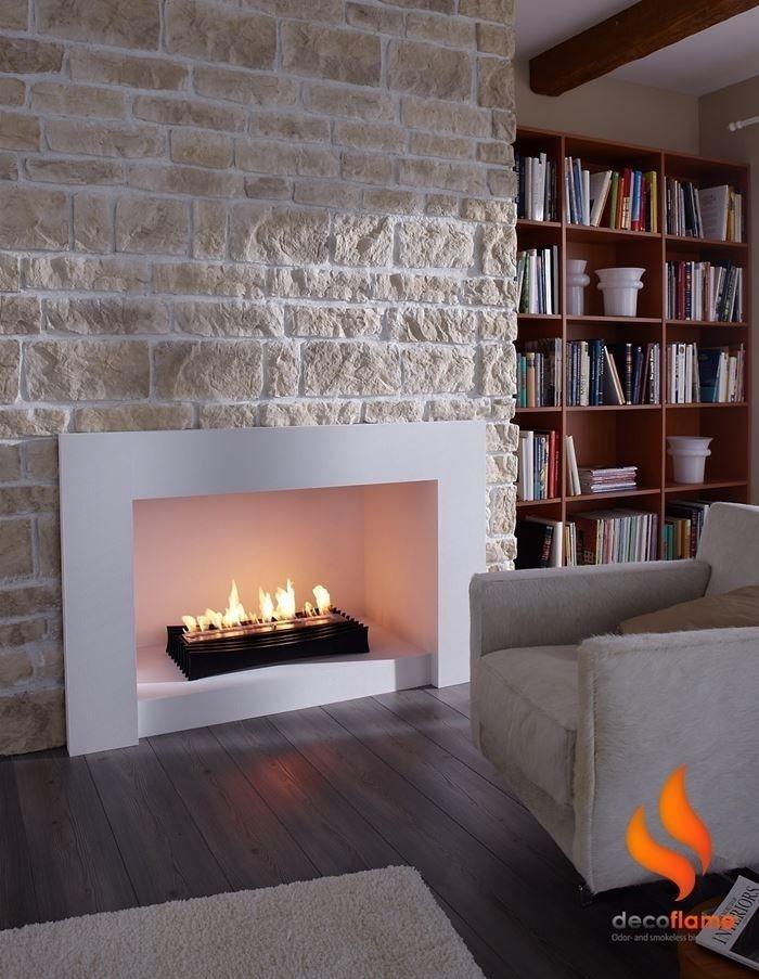 Bioethanol Fireplace Ethanol Fire Insert Modern 1102 Decoflame Uk дом интерьер дизайн камина
