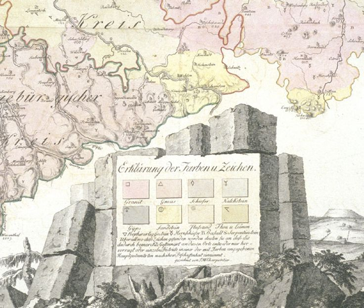A Concise History of Geological Maps: The Harmony of Colors | History of Geology, Scientific American Blog Network