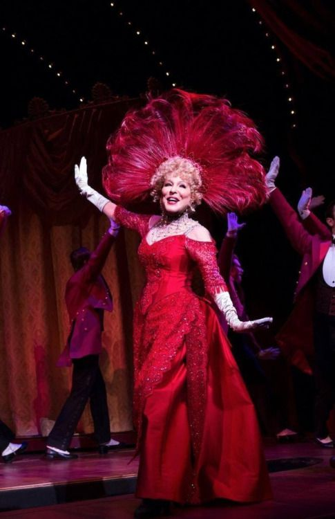 First look at Bette Midler, in the new Broadway production of Hello Dolly!