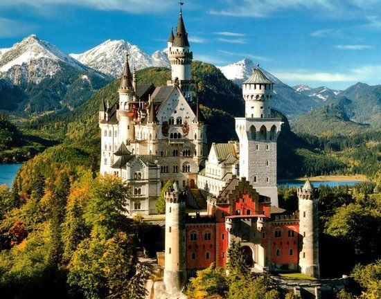 12 fairy tale places that are actually real - Neuschwanstein Castle - Bavaria, Germany