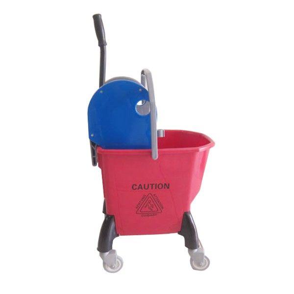 Single Bucket 25L Deluxe Red.  - Type:302KL-25DXMR - Capasitas :25L - Wringer:Down Press - Color:Red Bucket, Blue Grey Wringer - product size :41x31x68cm - Harga per Unit.  http://alatcleaning123.com/ember/1680-single-bucket-25l-deluxe-red.html  #ember #bucket #alatcleaning