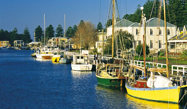 Port fairy- boats