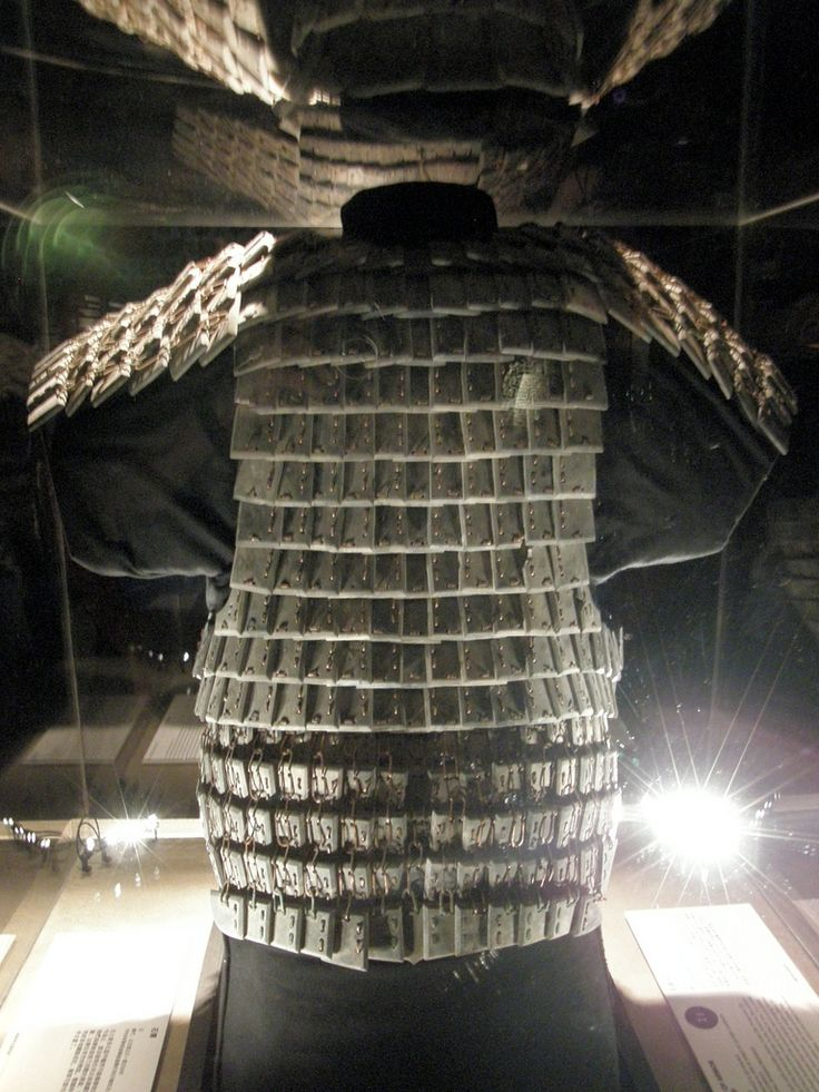 Terracotta Warriors: Suit of Armor | Stone | Qin Dynasty, 221-206 BCE