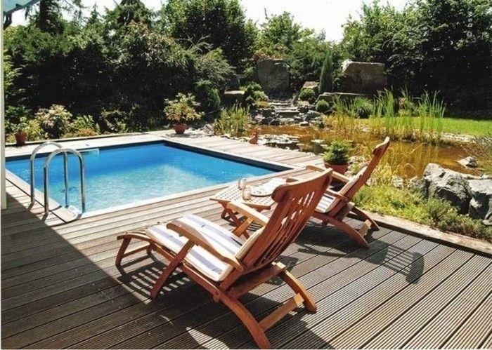 Les 25 meilleures id es de la cat gorie petite piscine for Coque piscine carree 5x5