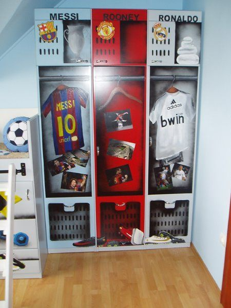 Football, Soccer Bedroom For Boys.