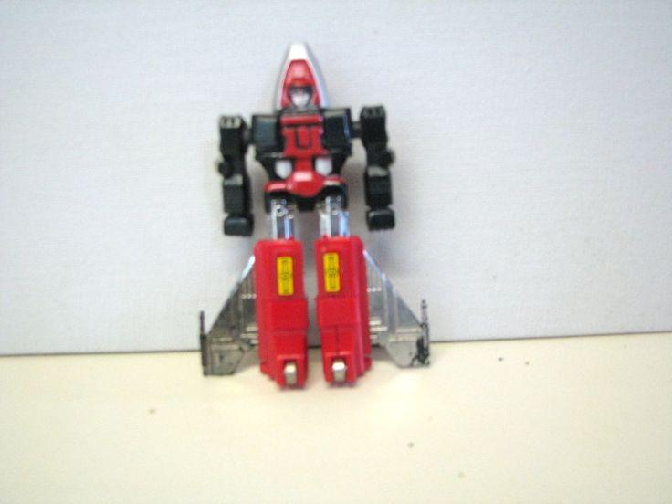 vintage transformers jet robot plastic and metal vf/nm loose complete  #Hasbro