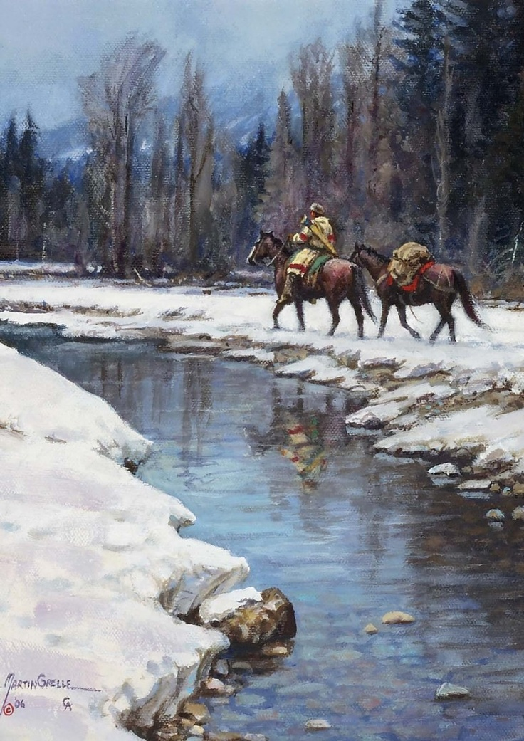 Image detail for -MARTIN GRELLE, The Long Winter, 2006 : Lot 122