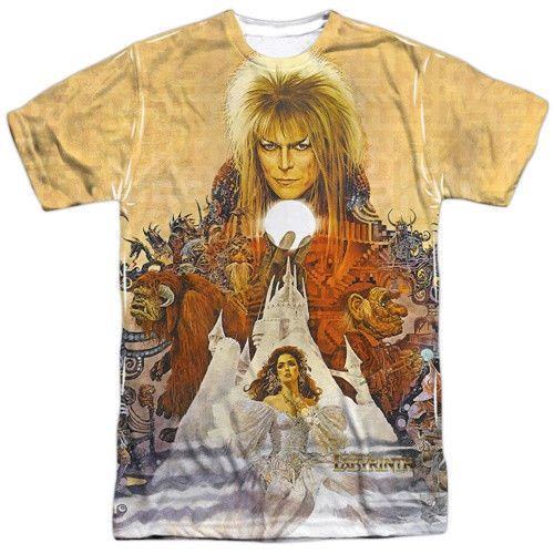 The-Labyrinth-Movie-Poster-Image-Sublimation-T-Shirt-NEW-UNWORN