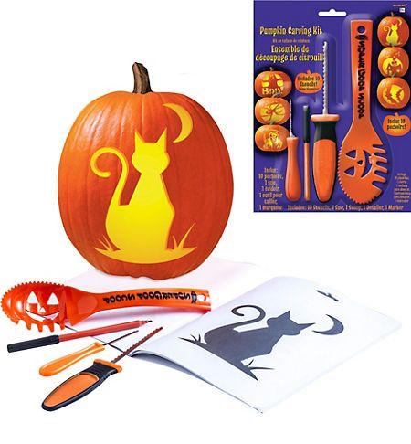 Pumpkin Carving Kits - Pumpkin Carving Tools & Stencils - Party City