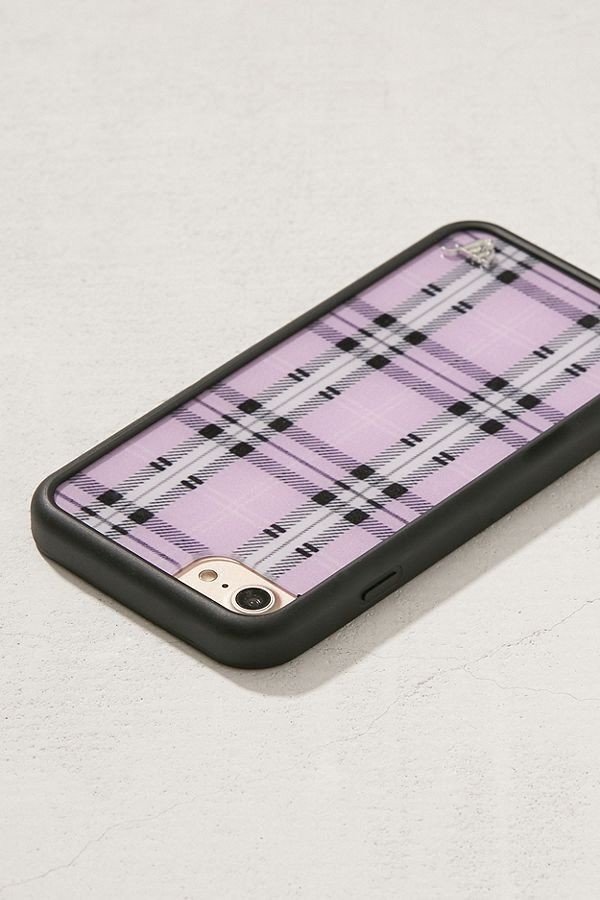 on sale 39ce0 88d9b Wildflower Lavender Plaid iPhone 8/7/6 Case in 2019 | Music + Tech ...