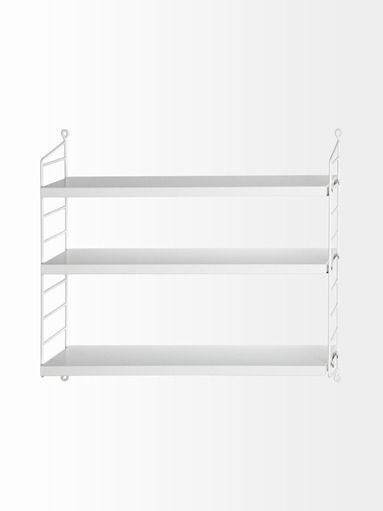 String Pocket-seinähylly 60 cm | Hyllyt ja naulakot | Koti | Stockmann.com
