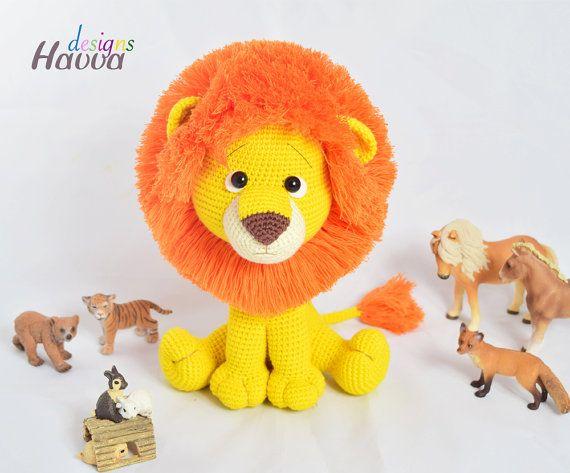 Amigurumi Leon : Best amigurumi lion images crochet animals