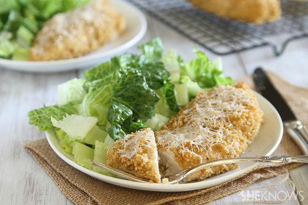 Guiltless crispy chicken