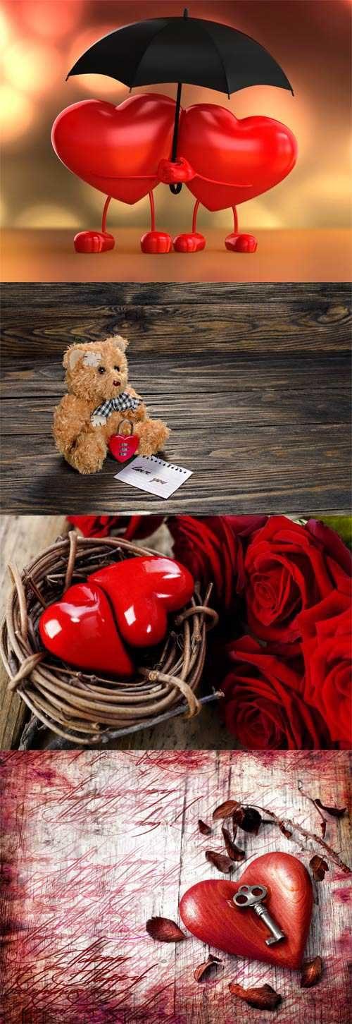 Romantic Valentine's Day cards