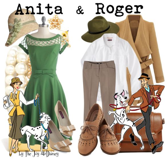 Anita & Roger Radcliffe Couples Costumes