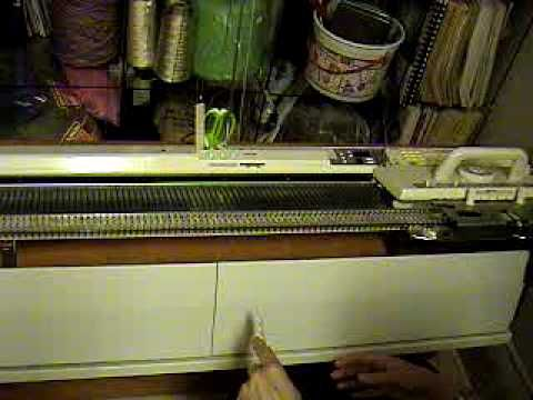 Brother Knitting Machine - comb cast on