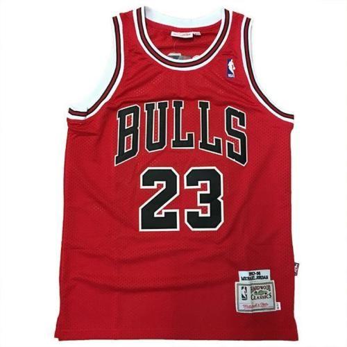 Maglia canotta NBA Vintage - Michael Jordan dei Chicago Bulls