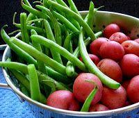 Beans and New Potatos | Beans | Pinterest