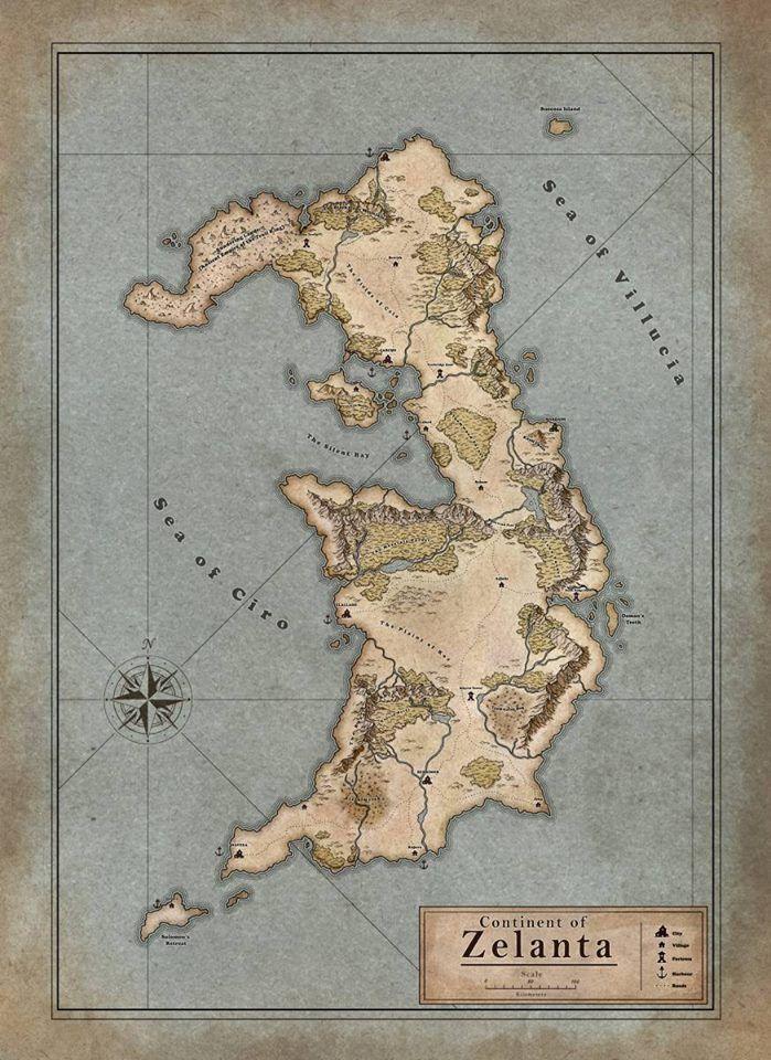 Continent of Zelanta 254 best dark age