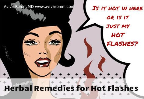 Herbal Remedies for Hot Flashes & Night Sweats: Natural Remedies for Menopause - Aviva Romm MD