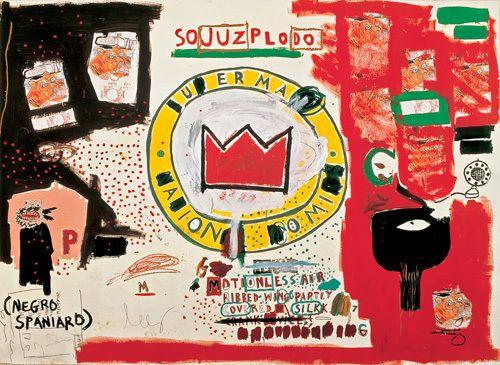 Untitled (Crown) 1988 Art Print by Jean-Michel Basquiat Easyart.com