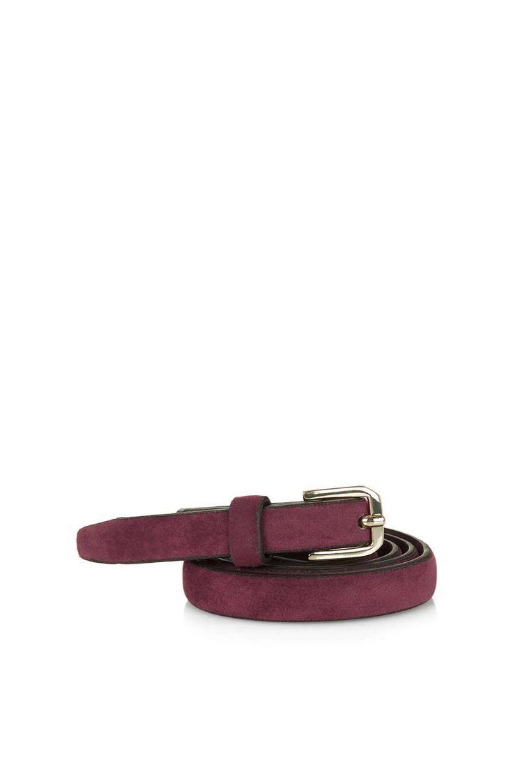 Photo 1 of Suede Skinny Belt