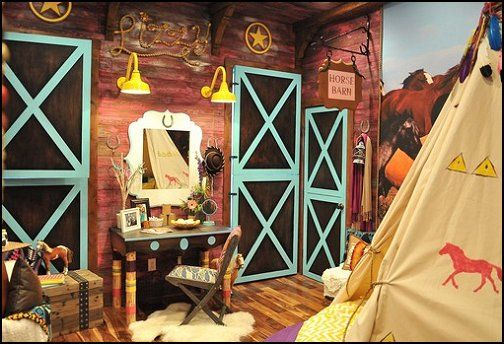 girls horse themed rooms | Decorating theme bedrooms - Maries Manor: Southwestern - American ...