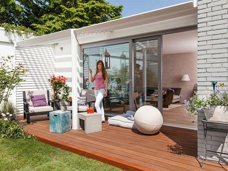 119 besten terrassendach bilder auf pinterest outdoor. Black Bedroom Furniture Sets. Home Design Ideas