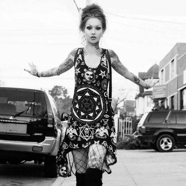 Fashion By Shelly Shelly D Inferno in the Occult