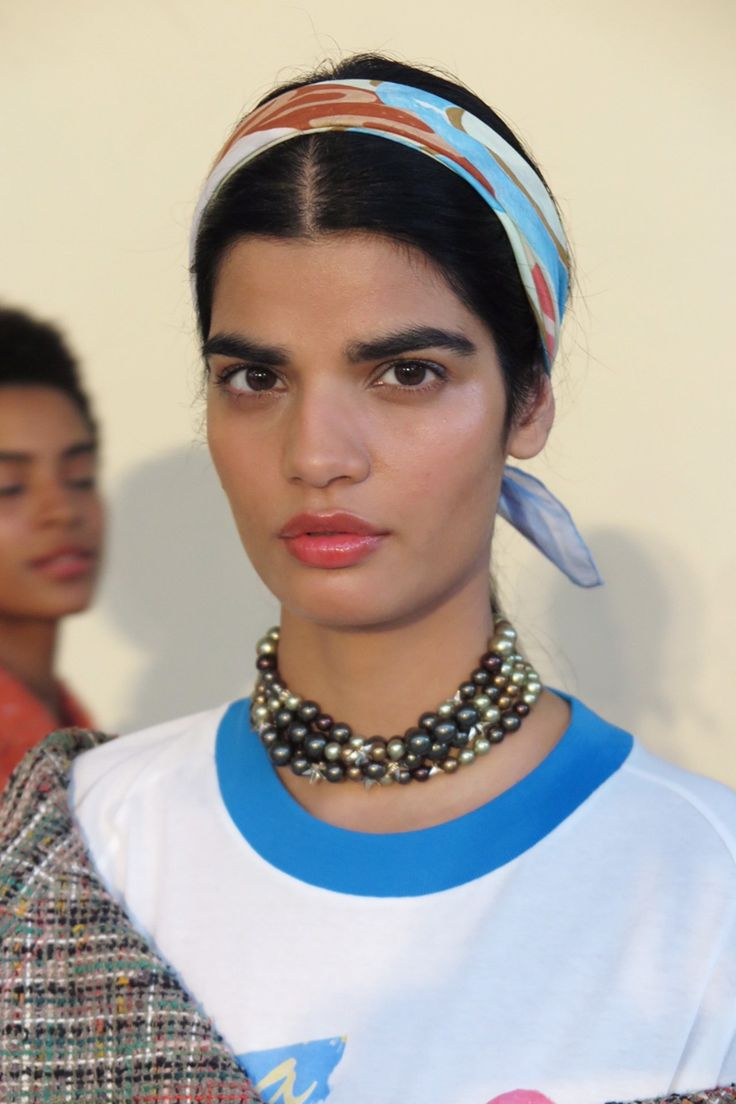 Chanel Cuba beauty - hair by Sam McKnight