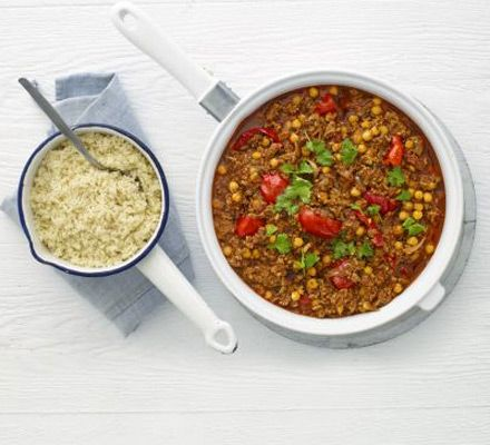Chilli Marrakech Something a bit different Serve with couscous & coriander Stores in freezer bags