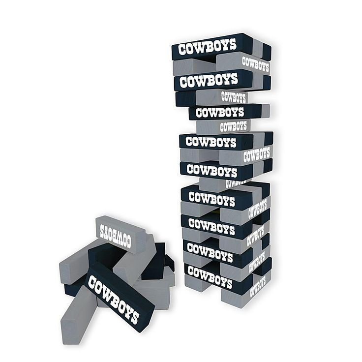 Officially Licensed NFL Table Top Stackers - Cowboys