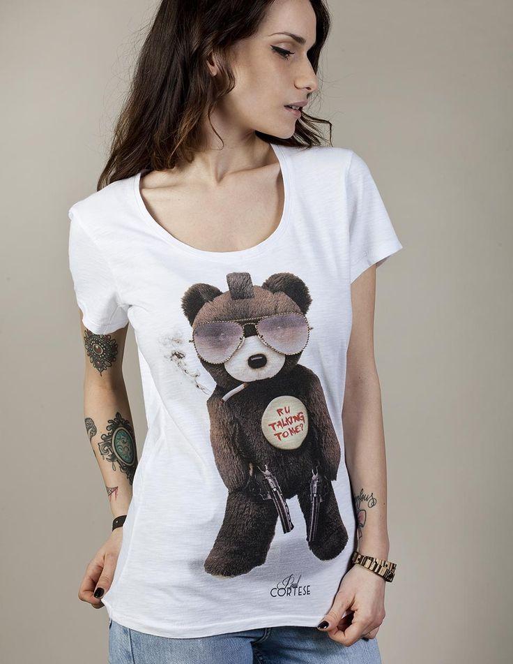 TAXI BEAR #woman #tshirt #beartoys #style #fashion #moda #womenfashion #womenstyle #madeinitaly