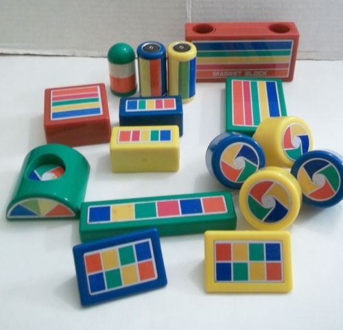 Details about Hilco Wonder Tree Magnet Toy Building Blocks