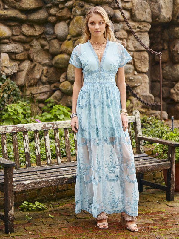 17866ada1bc4 Altar d State Mariska Maxi Dress - Maxi   Midi - Dresses - Apparel
