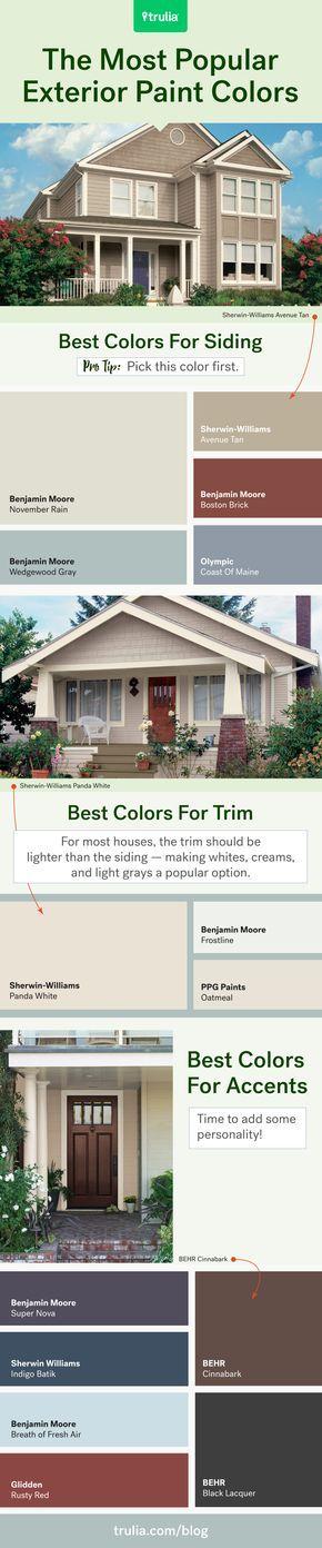 Best 25+ Exterior paint schemes ideas on Pinterest | Outdoor house ...