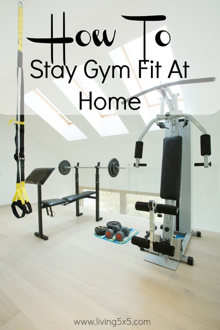Finding ways to stay fit without going to the gym might help. One cost-cutting idea is to stay fit without a gym membership!