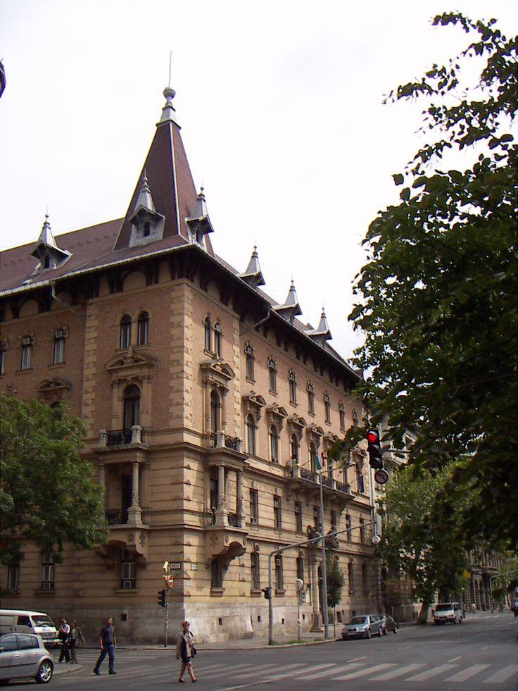 Egykori székházunk - Országos Erdészeti Egyesület