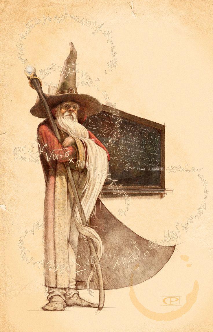 The Math wizard - by Claudio Prati