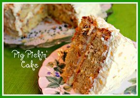 Sweet Tea and Cornbread:- - Pig Pickin' Cake ! Nice different recipe.. take a peek !