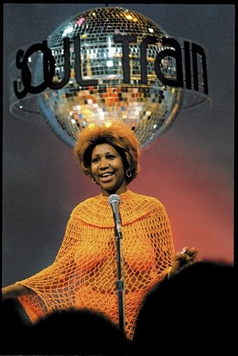 Aretha Franklin on Soul Train. There is so much that is right about this photo.