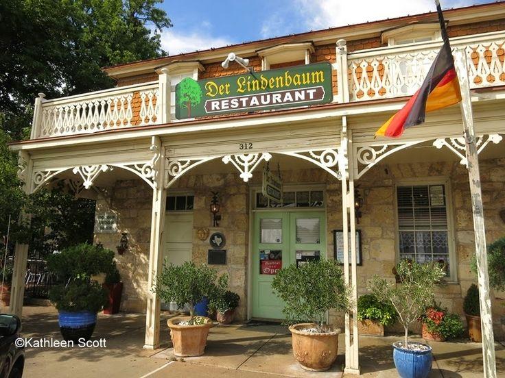 Four cool restaurants in Fredericksburg, via travel writer's blog: Hill Country Mysteries: Good Eats in a Cool Town -- Fredericksburg, TX