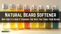 Why A Natural Beard Softener Can Change The Way You Tame Your Beard